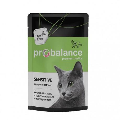 Влажный корм Probalance Sensitive для кошек с чувствительным пищеварением